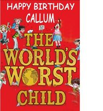 "PERSONALISED DAVID WALLIAMS BOOK BIRTHDAY CAKE TOPPER A4 Icing Sheet 10""x 8"""