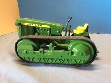 EARLY Ertl Custom JOHN DEERE CRAWLER, with Wood Wheels VINTAGE TOY FARM TRACTOR