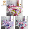 Aubrey Floral Printed Duvet Cover & Pillowcase Reversible Bedding Set Hot Sale