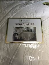 King Charles Queen Coverlet