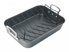 Prestige 57476 Roaster With Rack Roasting Pan Baking Dish Oven Carbon Steel