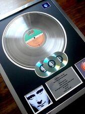 PHIL COLLINS FACE VALUE LP MULTI PLATINUM DISC RECORD AWARD ALBUM