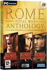 Rome Total War Anthology PC Dvd-rom 12 3 DVDs