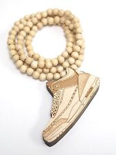 New Hip-hop fashion good wood nyc Necklace ( Jordan III )
