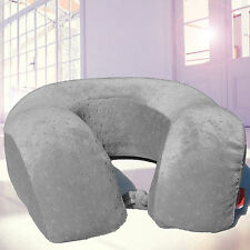 Memory Foam XL U Shape Travel Pillow Neck Support Head Rest Car Seat Cushion