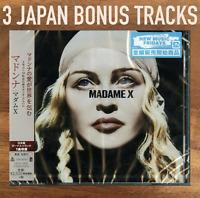 "3x JAPAN BONUS TRACKS + CD WITH OBI SENT FROM BERLIN! MADONNA ""MADAME X"" 2019"