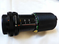 Vivitar 70-210mm 1:4.5 Macro Focusing Zoom photo camera lens 70-210MM