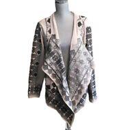 Sundance Catalog Embroidered Visual Splendor Jacket Open Size Large
