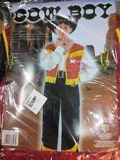 Kostüm Karneval Kind Größe Von 5 A 7 Alter Cowboy