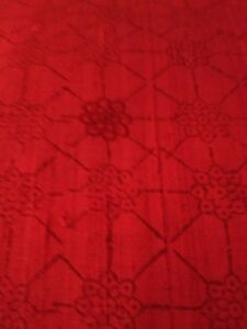 NEW- ABC Home Red Silk Cushion from India 20x20 $95.00