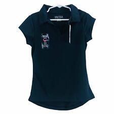 Nautica School Uniform Girls Shirt Short Sleeve Size Small (7) Blue Nwt $24