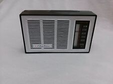 1960s MONTGOMERY WARD AIRLINE 8 TRANSISTOR RADIO #62-1255 WORKS made in Japan