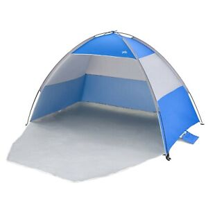 Beach Tent with UPF 40 in Blue or Red
