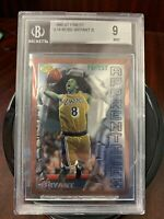 1996-97 Topps Finest #74 Kobe Bryant Lakers RC Rookie HOF BGS 9 MINT (9,9,8.5,9)