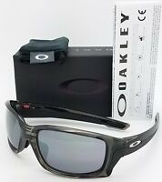 NEW Oakley Straightlink sunglasses Grey Black 9336-0158 Asian AUTHENTIC 9336-01