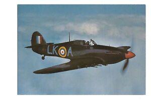 Postcard Hawker Hurricane MkII C   (B4d)