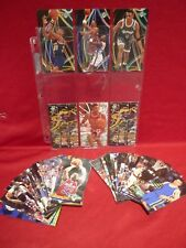NBA JAM SESSION 1993-94 & 1994-95 LOT 41 CARDS + 6 INSERTS VGC PIPPEN HARDAWAY