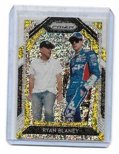 2020 Panini Prizm Racing NASCAR White Sparkle Ryan Blaney CARD # 2 $$$ RARE