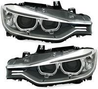 Xenon D1S headlights SET LED angel eyes for BMW 3 Series F30 F31 10 / 11-7 / 15