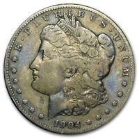 1878-1904 Morgan Silver Dollars VG-VF - SKU #161