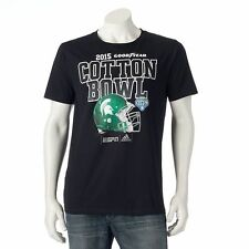 Men's adidas NCAA Michigan State Spartans 2015 Cotton Bowl T Shirt LG Black