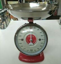 Dulton Kitchen Scales - Streamline Metal - Red