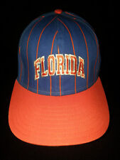 University of FLORIDA Gators Pinstripe  Orange Blue Hat Cap Snapback NCAA