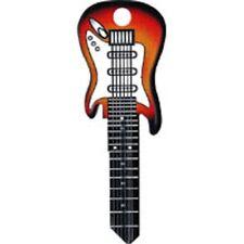 Sunburst Electric Guitar Rockin' Keys Blank Key fits Yale 1A/U6D
