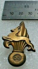 OFFICIAL FRENCH FOREIGN LEGION COPY BADGE OF THE 22ND COMPANY DE PORTEE****