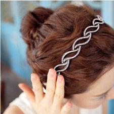 Women Metal Rhinestone Head Chain Jewelry Headband Head Hair band