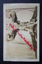 CROOKED RIVER BRIDGE on Dalles California Highway, Oregon, vtg. RPPC postcard