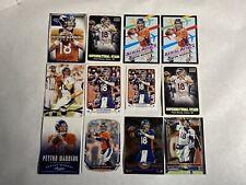 2012 2013 2014 2015 Peyton Manning 12 Card Lot Denver Broncos HOF Topps Chrome🔥