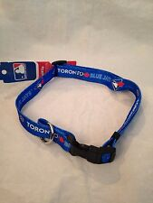 Toronto Blue Jays NEW X-Large Adjustable Dog Collar by Hunter . MLB Baseball Pet