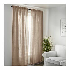 "61"" - 80"" Width Unlined Panel Window Curtains"