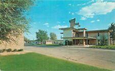 Deano Enterprises Desert Inn Motel roadside Midland Texas 1960s Postcard 20-6050