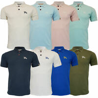 Mens Pique Polo T Shirt Tokyo Laundry Florenzi Short Sleeved Top Casual Summer