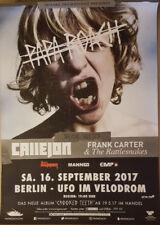 PAPA ROACH 2017 Offenbach +Vari. Konzert Plakat Concert Callejon Tour Poster