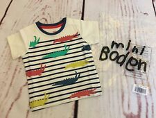 Baby Boden Boys **NEW** 6/12 Months Striped Alligator Shirt~ADORABLE!!!Boden