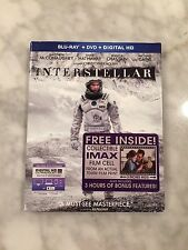 Interstellar IMAX Film Cell, Blu-ray, DVD, Digital HD - BRAND NEW & SEALED!