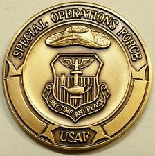 Air Commando Association ACA Special Operation Brass Air Force Challenge Coin