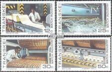 Zuid-Afrika - Transkei 172-175 (compleet.Kwestie.) First Day Cover 1985 Streichh