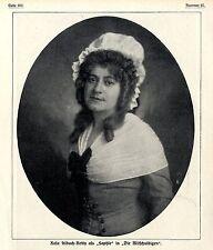 """L'attrice austriaca Rosa Albach-Retty come """"Sophie"""" 1911"""