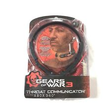 New! Gears of War 3 Throat Communicator Chat Headset for Xbox 360 by Mad Catz