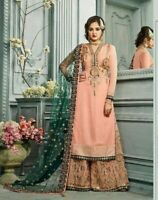 Indian Pakistani Designer Salwar Kameez Shalwar Suit Sharara Plazzo Bollywood