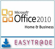 MS Office 2010 Home and Business 32/64 Bit Vollversion MAR Multilingual Download