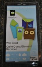 Brand New Sealed Wild Card Cricut Cartridge--Hard to find