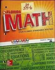 SH375-6 * 7TH GRADE, FLORIDA MATH STANDARDS EDITION, COURSE 2, VOLUME 2