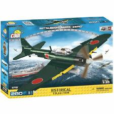 COBI 5712 Small Army Planes Mitsubishi A6M5 Zero M 280pcs