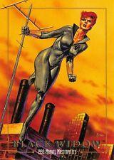 BLACK WIDOW / 1992 Marvel Masterpieces BASE Trading Card #03 Art by JOE JUSKO