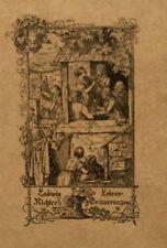 Richter, Ludwig. Lebenserinnerungen eines deutschen Malers. EA 1921. Signiert.